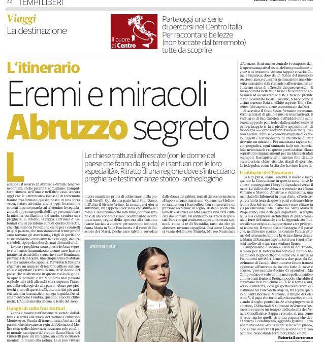 Eremi e miracoli, l'Abruzzo Segreto