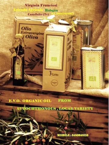 Virgina Franciosi olio