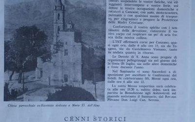 La Voce di S. Anna-scritto del Pievano di Canzano nel 1968